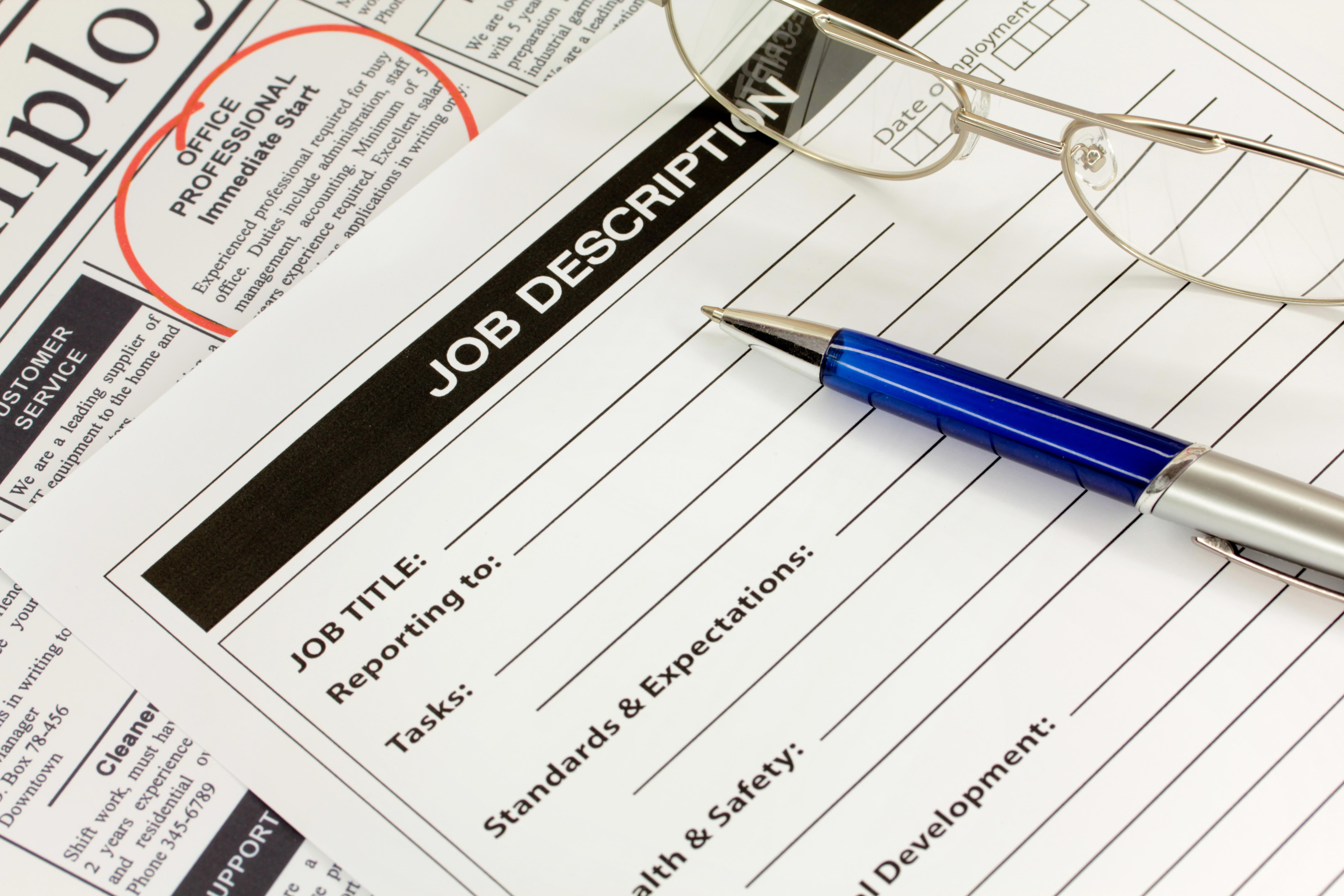 your resume should never read like a job description resume preferred