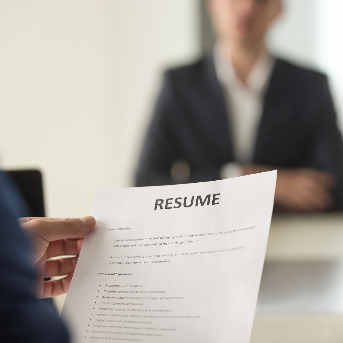 the professionally written resume resume preferred